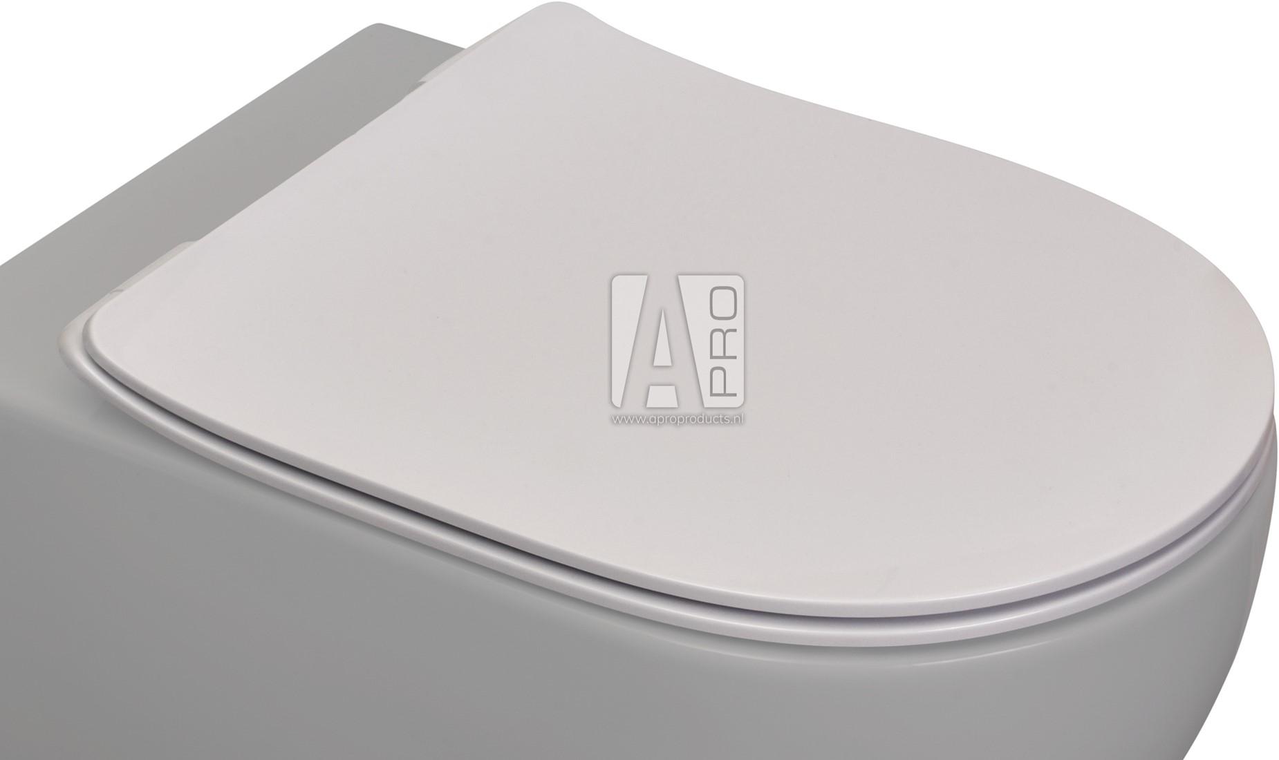 Top QKCW05 App toiletzitting met soft-close en quick release Apro OF86