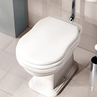 23/CR Soft-close toiletzitting Soft-close toiletzitting