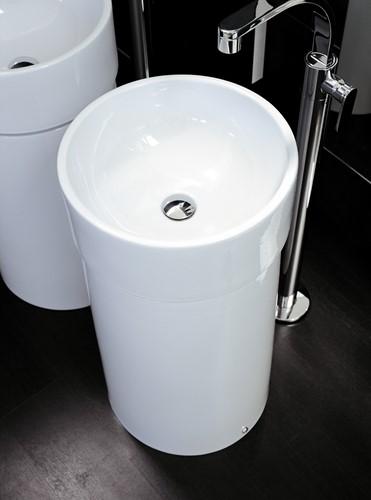 5050/COLC Zuil Vrij staande TWIN COLUMN voor wastafel