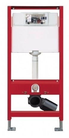 TECEprofil wc-inbouwframe met Uni-spoelkast bouwhoogte 1120 mm TECEprofil wc-inbouwframe met Uni-spoelkast bouwhoogte 1120 mm