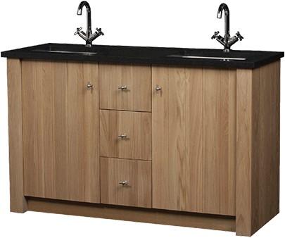 CN140B01N Royal Oak meubel 140 cm met granieten blad NATUREL