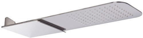 F2347CR Wall mounted stainless steel showerhead