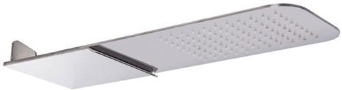 F2347CR Wellness - Wall mounted stainless steel showerhead
