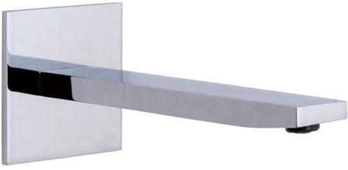 F2424CR Wall mounted bath spout