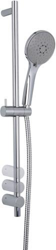 F2444CR Wellness - Brass sliding rail
