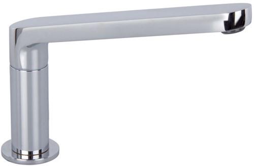 F2457CR Deck mounted bath spout