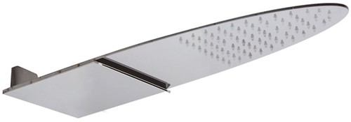 F2627CR WALL MOUNTED STAINLESS STEEL SHOWERHEAD