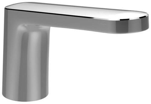 F2643CR Deck mounted bath spout