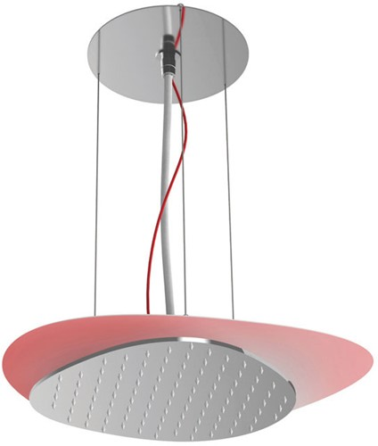 F2651CR Wellness - Ceiling mounted stainless steel showerhead Cloud