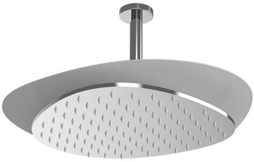 F2653CCR Ceiling mounted stainless steel showerhead Cloud