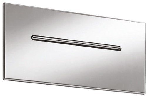 F2782CR Waterfall stainless steel wall-mounted spout