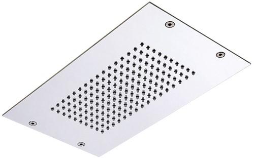 F2805CR Wellness - Ceiling mounted stainless steel showerhead Modular