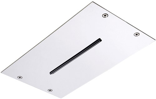 F2810CR Ceiling mounted stainless steel showerhead Modular