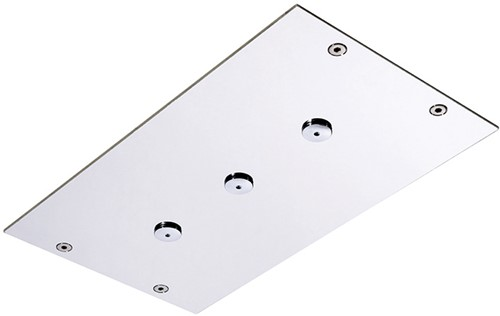F2815CR Ceiling mounted stainless steel showerhead Modular