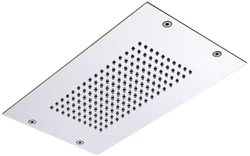 F2825CR Ceiling mounted stainless steel showerhead Modular