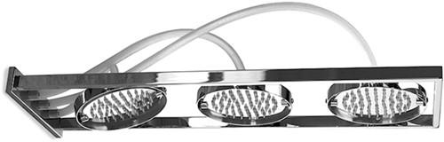 F2855CR Wellness - Wall mounted showerhead Nu