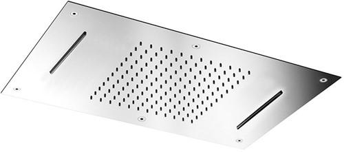 F2903CR Hamonia Ceiling mounted stainless steel showerhead