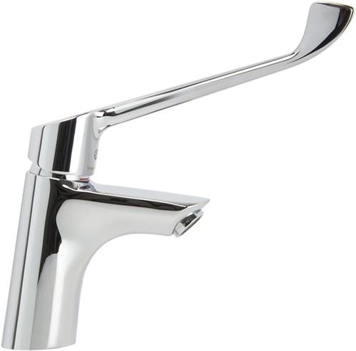 F3001/LCCR Collettivita - Wash basin mixer with clinical handle