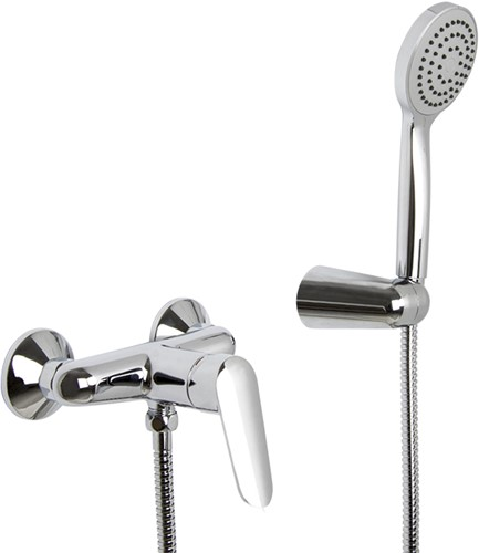 F3005CR Exposed shower mixer with shower set