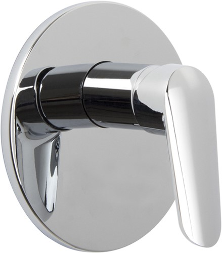 F3009X1CR Single lever bath and shower mixer for concealed installation