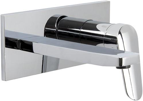 F3021LX5CR Wall mounted wash basin mixer