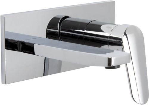 F3021X5CR Wall mounted wash basin mixer