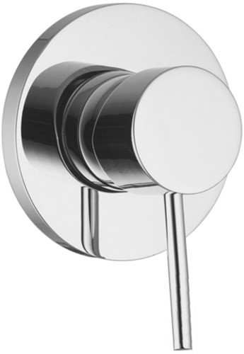 F3033/1CR Single lever bath and shower mixer for concealed installation