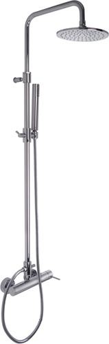 F3035/2CR Shower column with showerhead and shower set