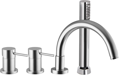 F3044CR Deck mounted bath mixer