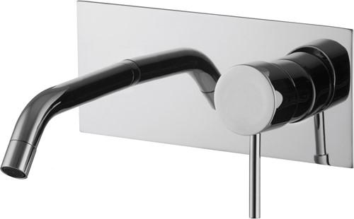 F3051LX5CR Wall mounted wash basin mixer