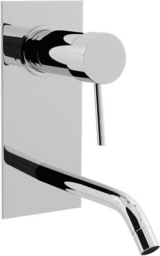 F3051VLX5CR Wall mounted wash basin mixer