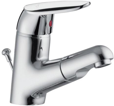 F3201/BECR Wash basin mixer with extr. handshower