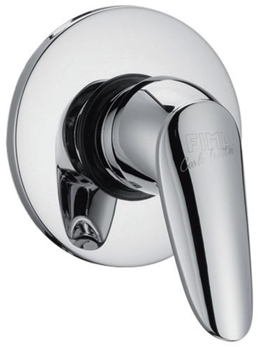 F3203/1CR 3203/1 CHROME EXPOSED PART ONLY FOR BUILT-IN SHOWER MIXER SERIE 2