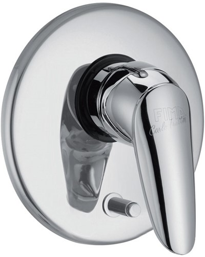 F3209X2CR 3209X2 CHROME EXPOSED PART ONLY BUILT-IN SHOWER/BATH MIXER FIMABOX WITH