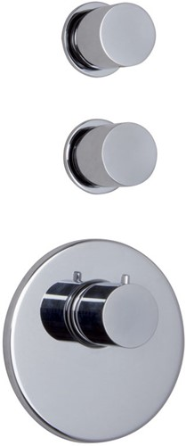 F3253X2CR Thermostatic built-in shower mixer