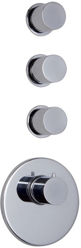 F3253X3CR Thermostatic built-in shower mixer