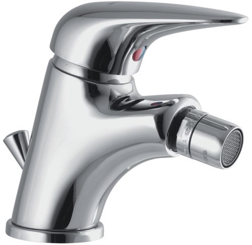 F3282CR.2.WS 3282.2.WS BIDET MIXER L/18 CHROME WITH CLIC CLAC  POP-UP WASTE AND WITH