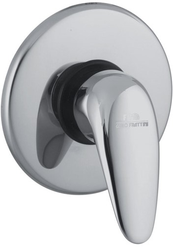 F3283/1CR 3283/1 CHROME EXPOSED PART ONLY FOR BUILT-IN SHOWER MIXER L/18