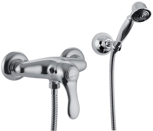 F3305CR Exposed shower mixer with shower set
