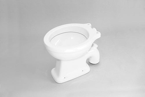 G1026 Stand WC SPOFFORD met verticale afvoer - Kleur: GLOSSY WHITE