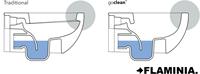 AP118G APP GoClean® wandcloset - Kleur: GLOSSY WHITE-1