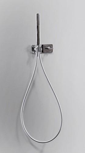 NK3280 NOKÉ inbouw douchemengkraan met 2 weg omstel en handdoucheset