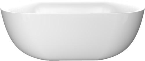 RO524 Vrijstaand bad glanzend wit EGG