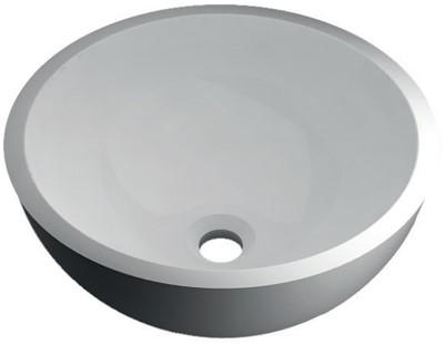 RO764 Vrijstaand Solid Surface opbouw kom mat wit