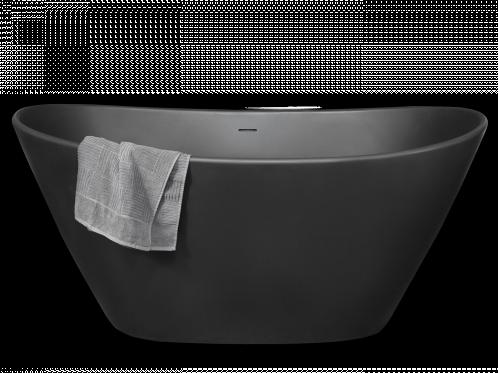 AMORE GRA Vrijstaand bad 1600 x 850 x H715 mm. - GRAPHITE