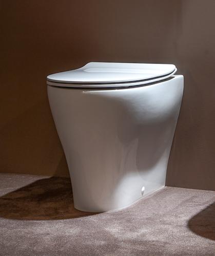 AP117RG App back-to-wall toilet GoClean® Glans wit