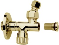F191OR Sottolavabo - Tap with filter, adjustment and shut off, with swivel connection 3/8'' Ø10 outlet