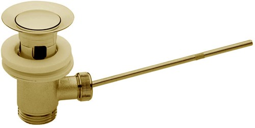 """F2000OR Pop-up waste 1""""1/4 NF with brass plug"""