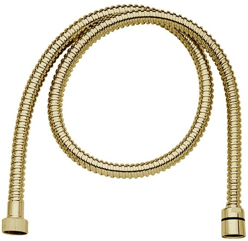 F2021OR BRASS FLEXIBLE HOSE WITH 1/2'' NUT - 150 CM LENGHT