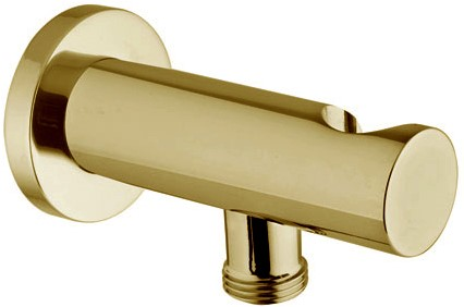 F2287OR Wellness - Brass shower holder with water connection 1/2''